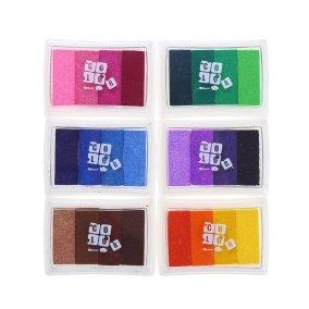 Decora Ink Pads Rainbow SET of 6